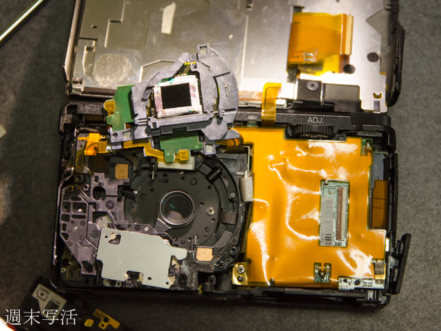 GRデジタル4を赤外線カメラに改造