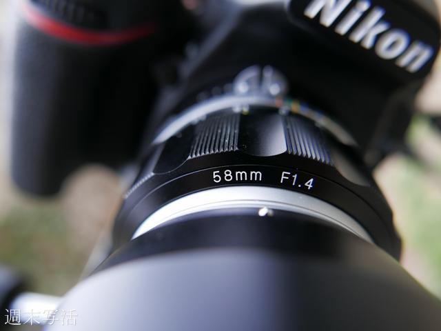 カメラレンズの焦点距離の印字