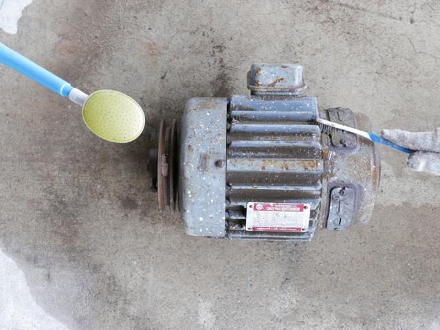 ACモーターベアリング交換