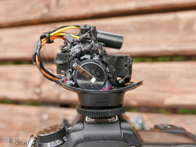 レンズ付きフィルムカメラの改造