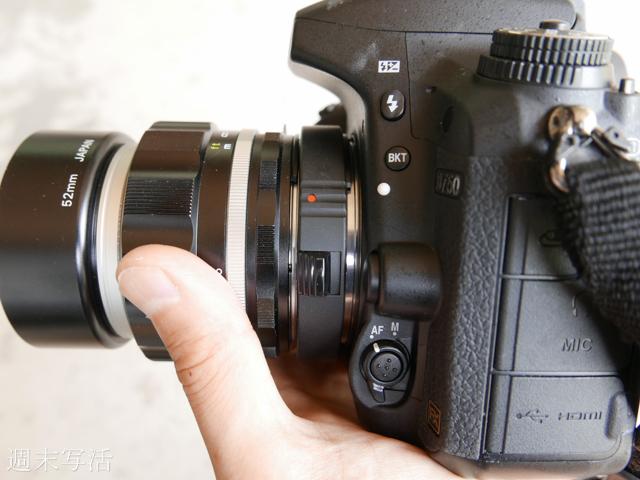 接写リングと単焦点レンズ