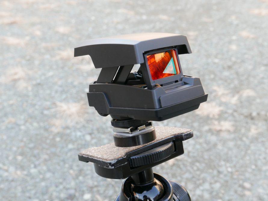 照準器EE-1 両眼撮影